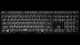 CM Storm Masterkeys Pro L White LED SGK-4070-KKCR1-US