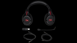 HyperX Cloud Flight Wireless Gaming HX-HSCF-BK/EM