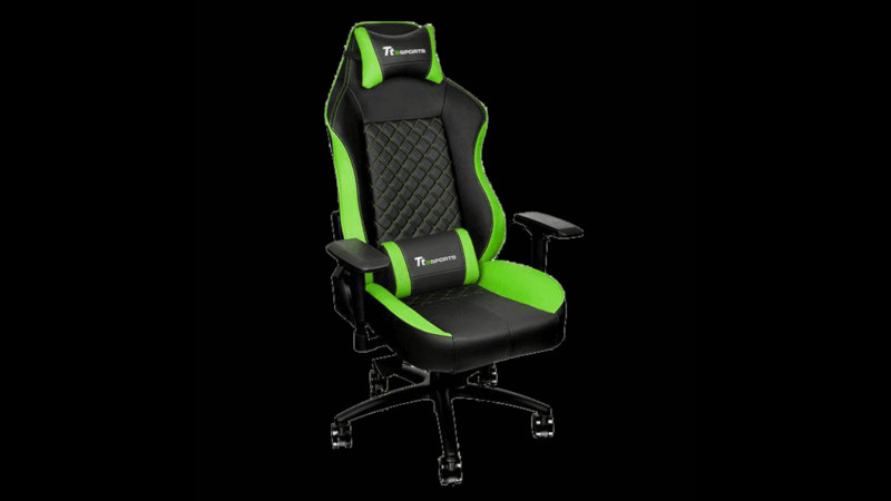 Thermaltake GT Comfort C500 Black Green GC-GTC-BGLFDL-01