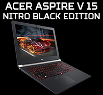 Laptopy Acer Aspire V 15 Nitro Black Edition