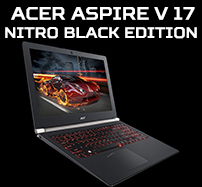 Laptopy Acer Aspire V 17 Nitro Black Edition